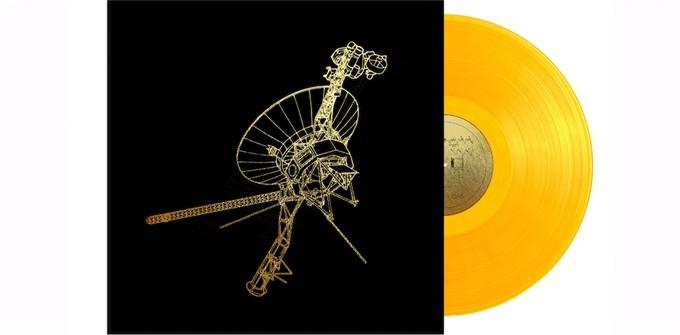 Vinis do disco dourado da Voyager estão à venda no Kickstarter (Foto: divulgação)