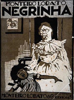 """Capa de edição do livro de contos """"Negrinha"""", lançado em 1920 (Foto: Reprodução)"""