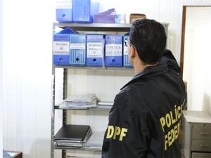 'Operação Tyrannos' é realizada em Minas Gerais e em São Paulo (Foto: Divulgação / Polícia Federal)