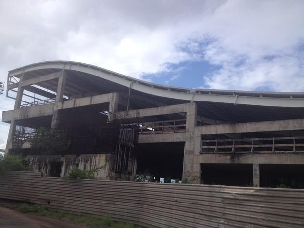 Obra do novo aeroporto de Macapá será retomada após licitação (Foto: Cassio Albuquerque/G1)