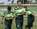 Meia elogia mescla no Coelho e faz  as contas por classificação no Mineiro