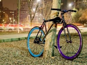 Yerka, a bicicleta contra ladrões. Projeto foi criado por três estudantes chilenos de Engenharia (Foto: Yerka Web/divulgação)