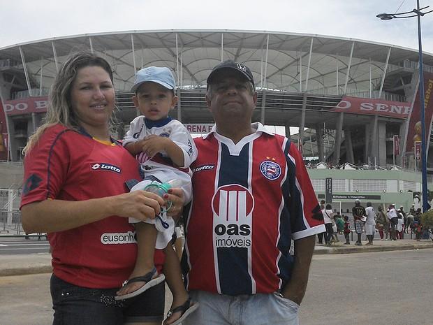 família (Foto: Eric Luis Miranda/Globoesporte.com)