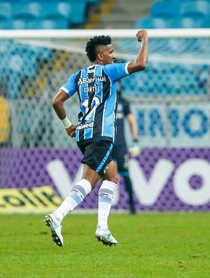 Grêmio x Bahia Arena Brasileirão gol Bruno Cortez (Foto: Lucas Uebel / F.B.P.A.)