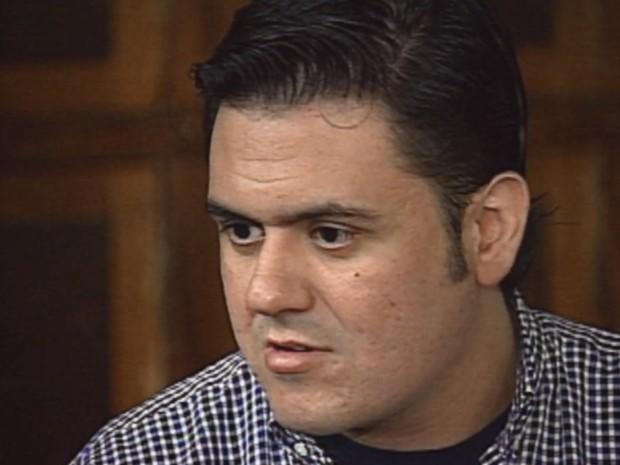 Pablo Russel Rocha, acusado de arrastar garota de programa até a morte em Ribeirão Preto (Foto: Reprodução/EPTV)