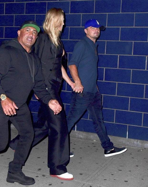 Leonardo DiCaprio e Toni Garrn (Foto: The Grosby Group)