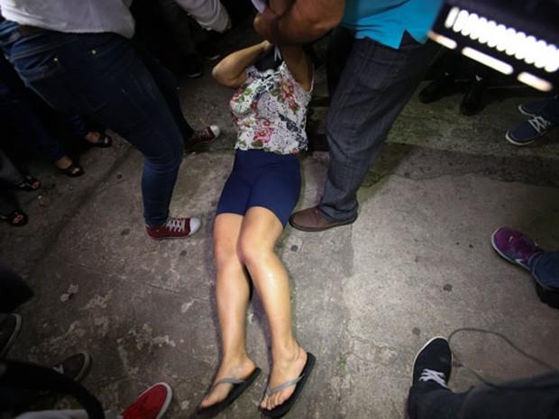 Mulher suspeita de abandonar bebê em Higienópolis é presa em SP (Foto: Tiago Queiroz/Estadão Conteúdo)