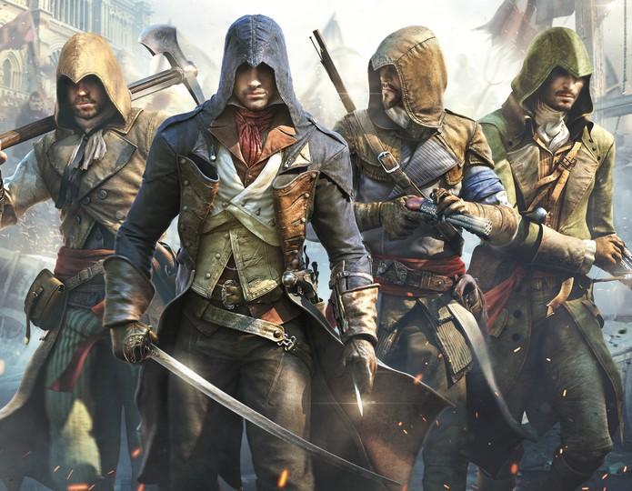 Assassin's Creed Unity - cover (Foto: Divulgação)