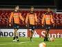 Com sete poupados, Galo faz último treino antes de enfrentar o São Paulo