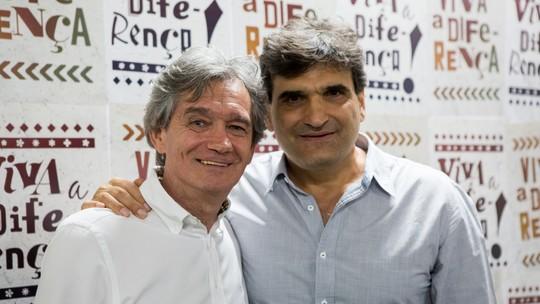 Serginho Groisman participa de workshop da nova temporada de 'Malhação'