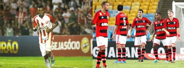 Flamengo perdeu o técnico após derrota; Náutico segue na última posição da tabela (Foto: Alexandre Cassiano / Ag. O Globo / Aldo Carneiro / PE Press)