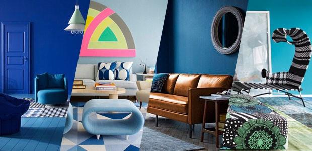 Sala azul: 16 ideias para apostar no tom (Foto: Divulgação)