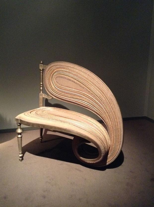 Sebastian Brajkovic Cadeira Fibonacci Carpenters Workshop Gallery, Nova York (Foto: Divulgação)