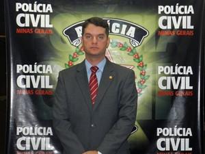 delegado bernardo penna uberlândia (Foto: Vanessa Duarte/G1)