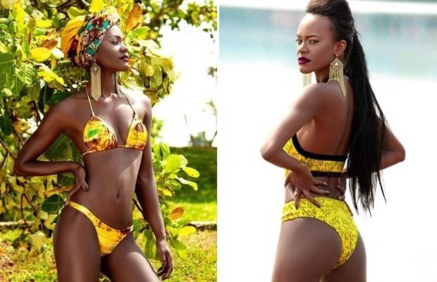 Modelo foi alvo de racismo após vencer concurso de beleza Jataí, Goiás (Foto: Divulgação/Leonardo Cunha)