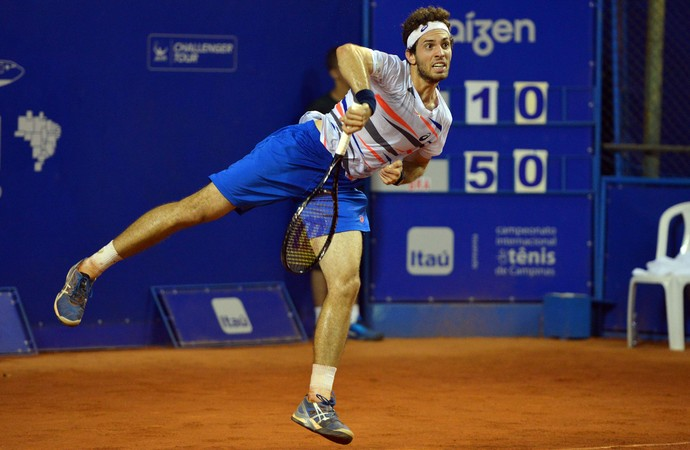 Guilherme Clezar, tenista (Foto: João Pires/Fotojump)
