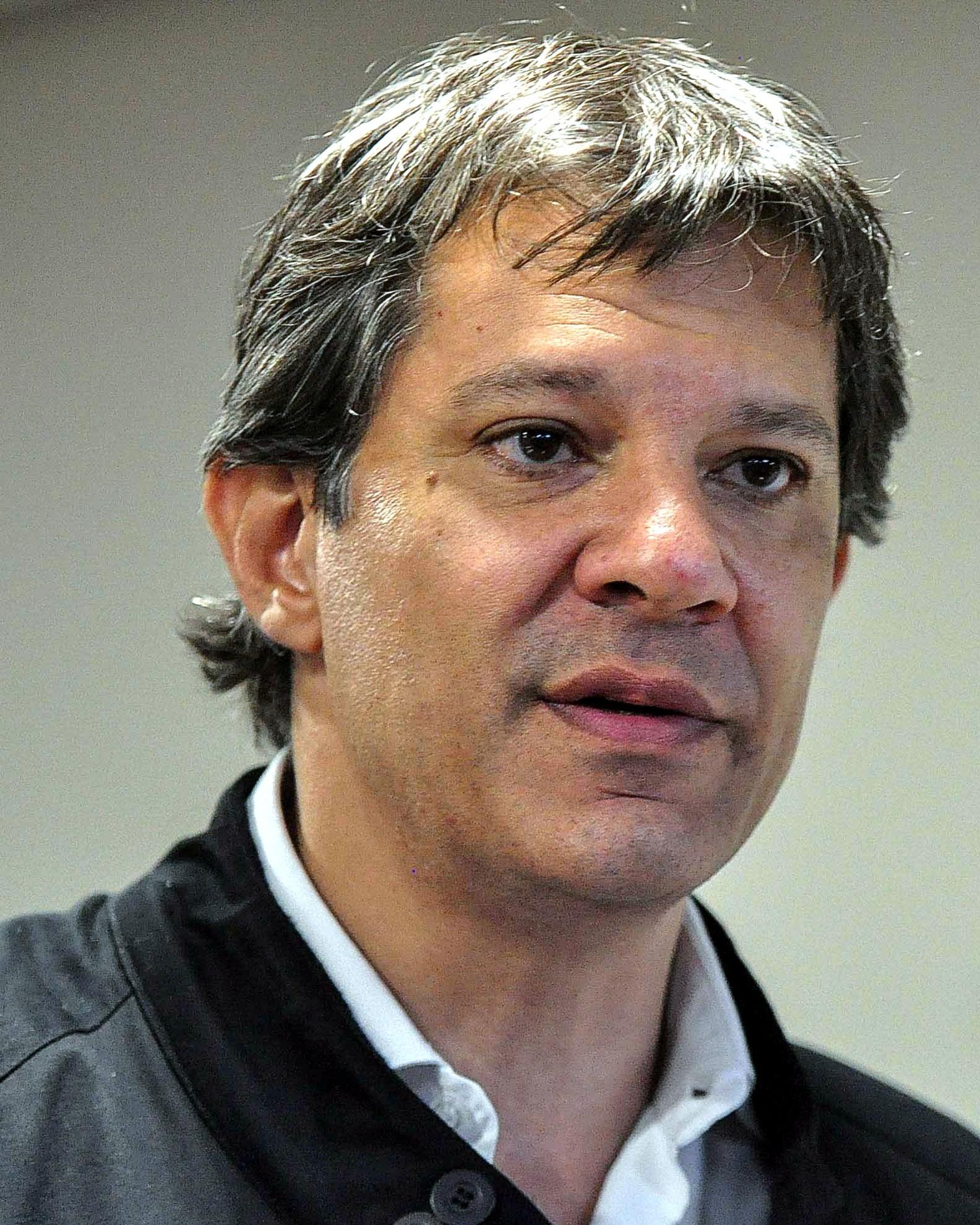 Fernando Haddad (Foto: Agência O Globo)