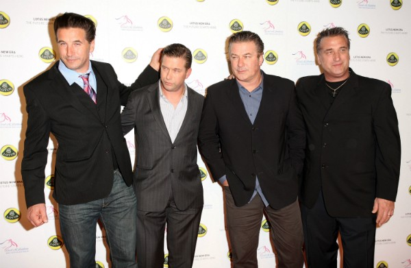 Os irmãos Billy, Stephen, Alec e Daniel Baldwin (Foto: Getty Images)