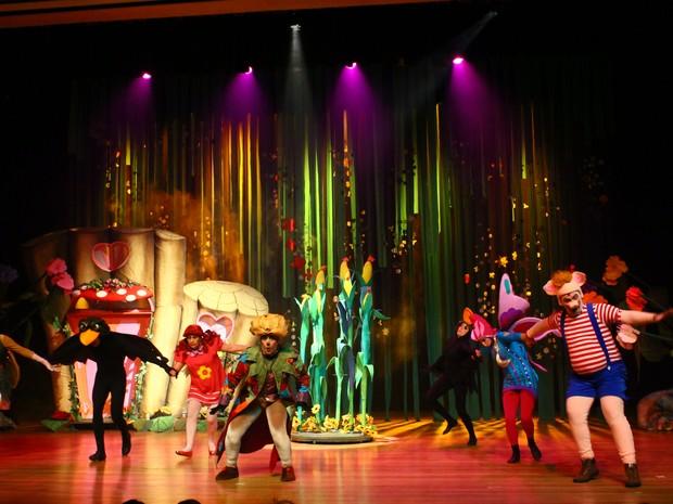 Espetáculo infantil tem apresentação única nesta quarta-feira (7), às 16h  (Foto: Lumax Produções)