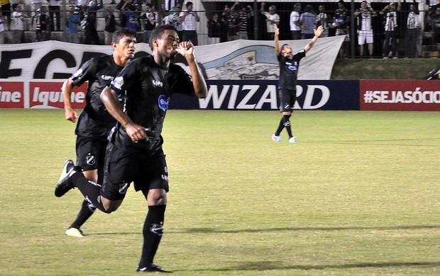 Abc comemoração de gol contra o Paysandu (Foto: Frankie Marcone / Futura Press)