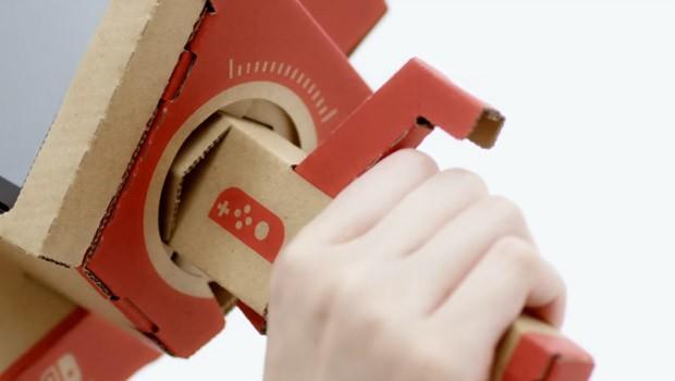 Nintendo lança Labo, com peças feitas com papelão (Foto: Divulgação/Nintendo)