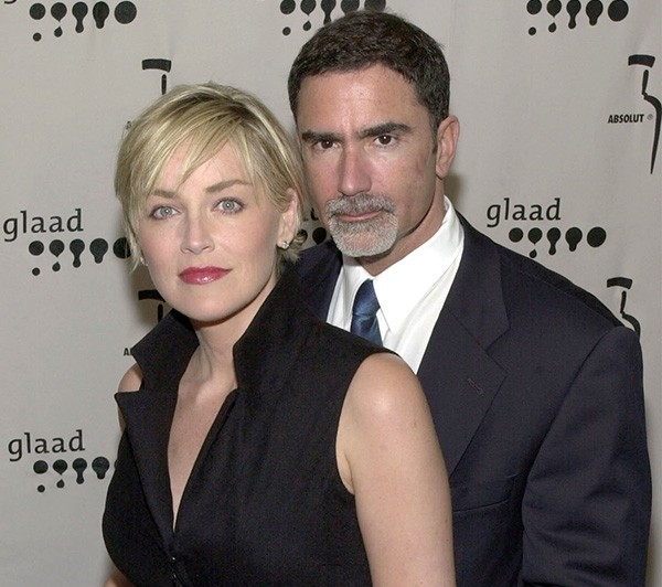 Sharon Stone e Phil Bronstein  (Foto: Getty Images)