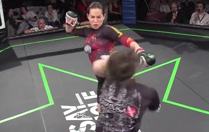 BLOG: Vídeo: veja nocaute brutal de Veronica Macedo, nova contratada do UFC