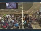 Ato de funcionários de empresas aéreas afeta voos em Viracopos