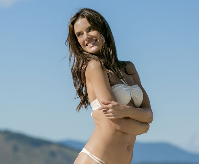 A top diz que é muito vaidosa e é apaixonada por cremes: Ritual! (Foto: Isabella Pinheiro/Gshow)