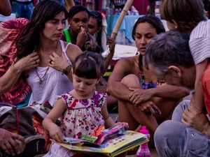Crianças também têm espaço no Festival Contato em São Carlos, SP (Foto: Divulgação/Festival Contato)