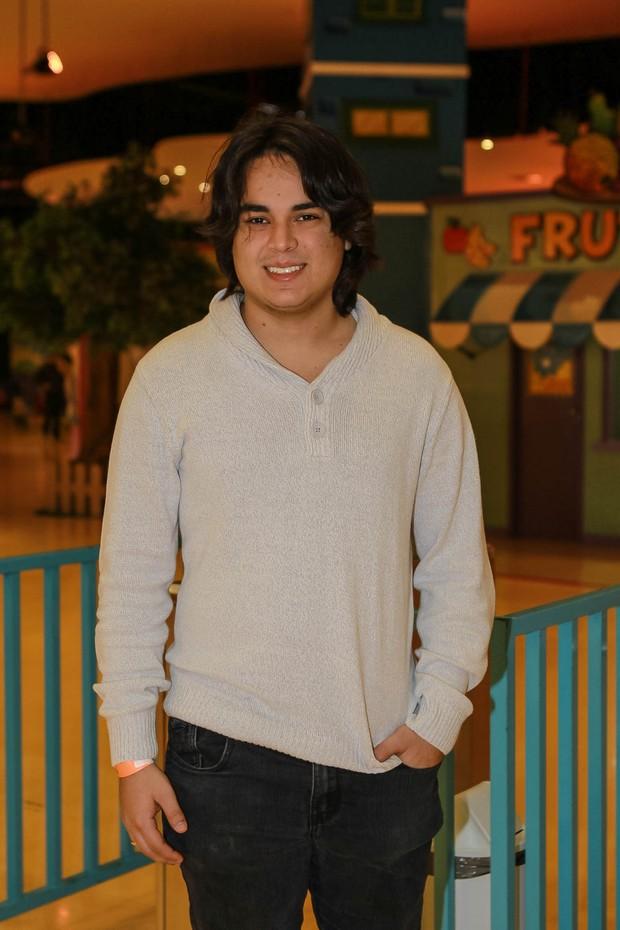 Igor Camargo, filho de Zezé di Camargo (Foto: Raphael Castello/AgNews)