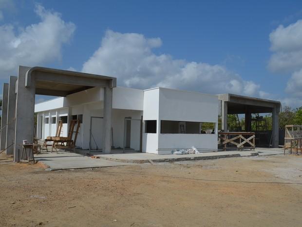 Obras do complexo administrativo e operacional serão entregues no início de 2017 (Foto: John Pacheco/G1)