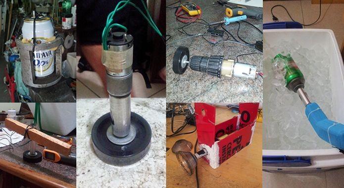 Originalmente, o Super Cooler surgiu de um experimento com uma furadeira (Foto: Divulgação)
