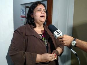 Vice-presidente da regional da OAB ficou chocada  (Foto: Fabio Rodrigues/G1)
