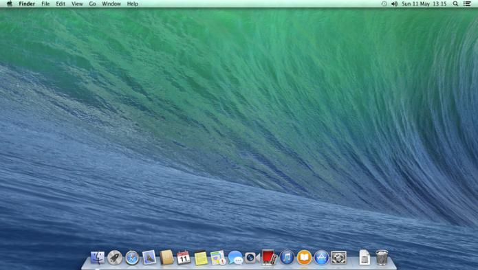 OS X 10.9 Mavericks: o primeiro a trazer nome de lugares em vez de felinos (Foto: Divulgação/Apple)