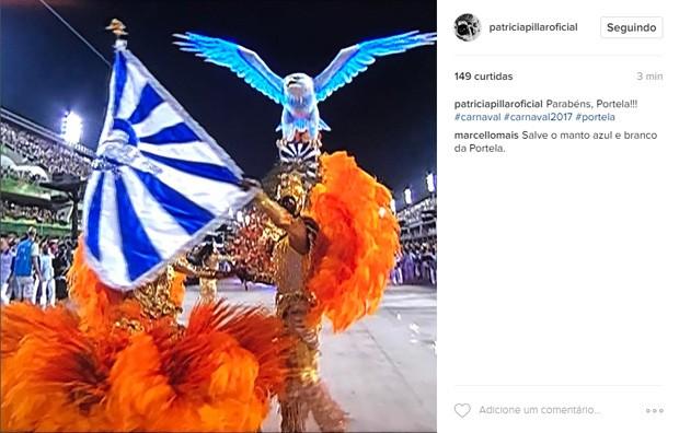 Patrícia Pilar (Foto: Reprodução / Instagram)