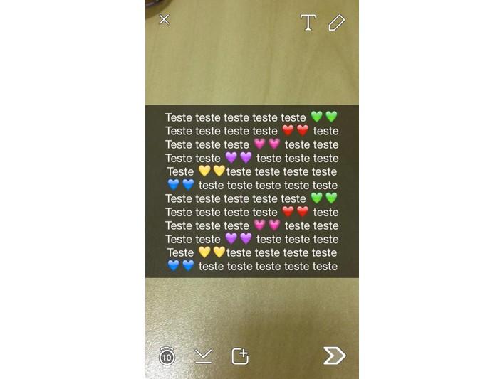 Snapchat 4 (Foto: Reprodução/Maria Clara Pestre)