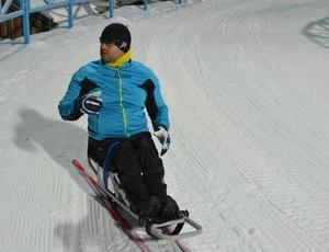 esqui cross country Fernando Aranha paralímpico (Foto: CBDN)