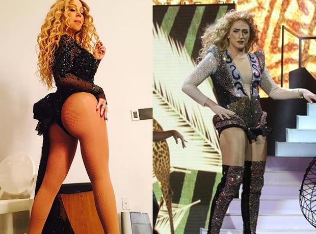 Mariah Carey X Paulo Gustavo (Foto: Reprodução)