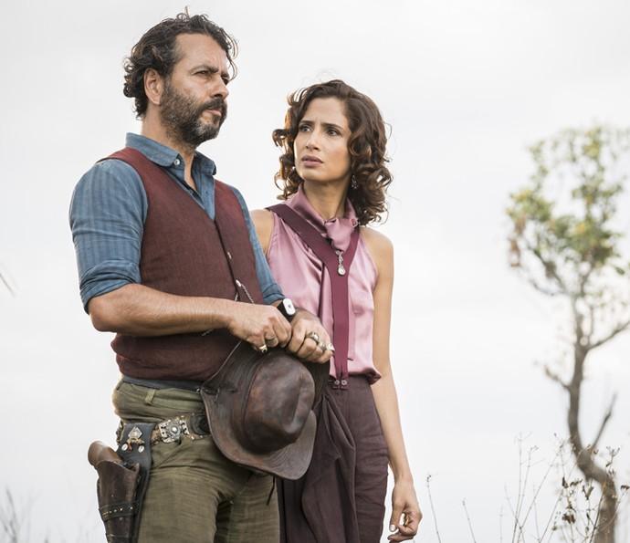 Cícero é apaixonado por Tereza desde mais novo (Foto: Felipe Monteiro/ Gshow)