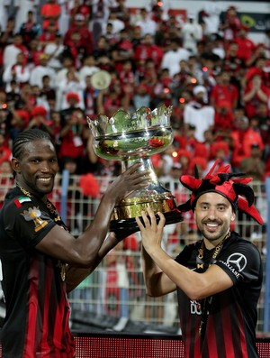 Everton Ribeiro Diop Al Ahli Copa dos Emirados (Foto: Reprodução / Twitter)