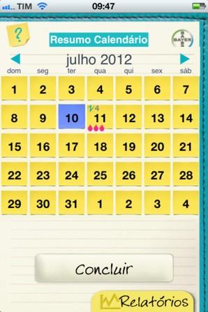 meu diario mensal