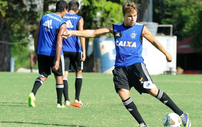 Igor Sartori treino Flamengo (Foto: Alexandre Vidal/Fla Imagem)