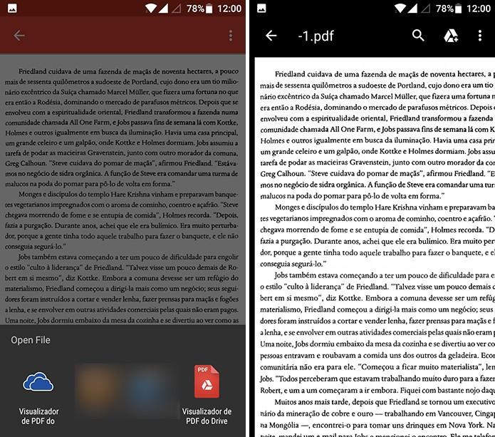 Ctrl-F salvará página e usuário poderá abri-la no Google Drive ou outro app (Foto: Reprodução/Elson de Souza)