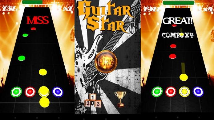 Guitar Star: Quatro botões e rock independente (Foto: Divulgação)