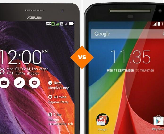 Zenfone 6 ou Moto G? Quem leva a melhor no comparativo do TechTudo? (Foto: Arte/TechTudo)