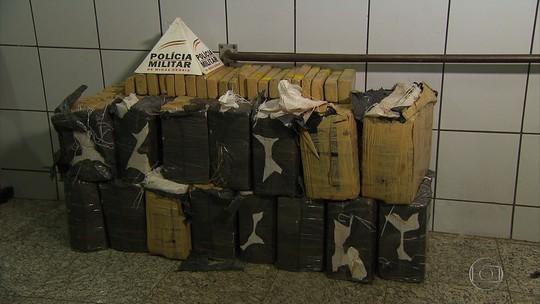 Polícia Militar apreende grande quantidade de maconha em Sete Lagoas