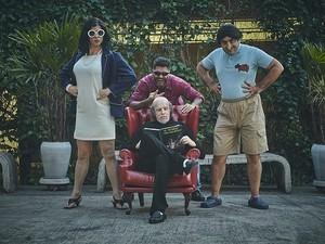 Grupo Hermes e Renato em apresentação em Belo Horizonte  (Foto: Divulgação)