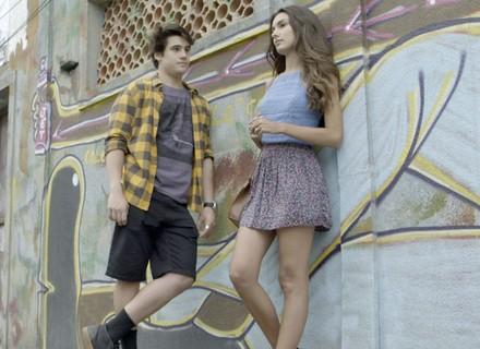 Rodrigo e Luciana fazem as pazes