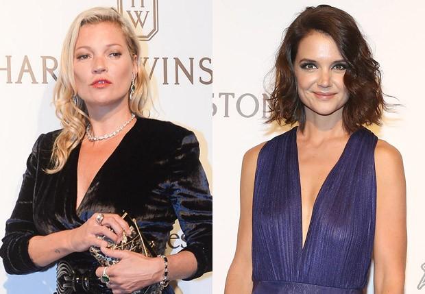 Kate Moss e Katie Holmes (Foto: Deividi Correa/AgNews e Manuela Scarpa e Iwi Onodera/Brazil News)